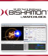 3D VFX Tool & Middleware BISHAMON by MATCHLOCK.
